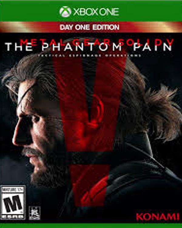 Metal Gear .V  XBOX  ONE
