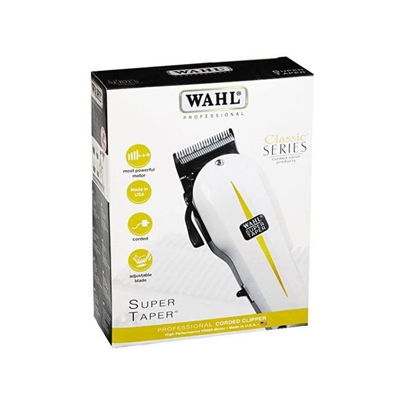 Wahl V5000 Professional Corded Hair Clipper - White