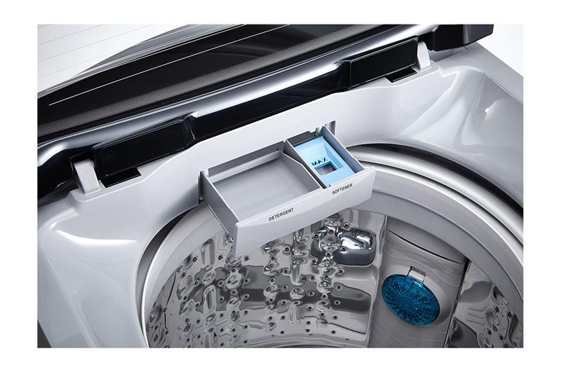 إل جي غسالة ملابس اوتوماتيك تحميل علوي 15 كيلو موتور انفرتر لون سيلفر T1588NEHTE