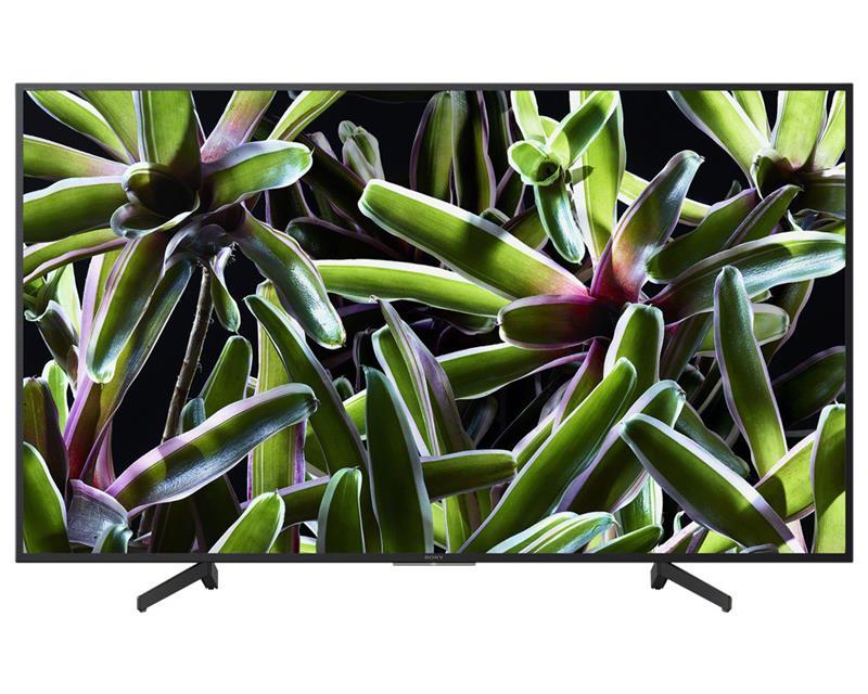شاشة تليفزيون سوني 4K سمارت 55 بوصة تدعم الواي فاي ، مزودة بـ 3 مداخل HDMI و 3 مداخل فلاشة KD-55X7000G