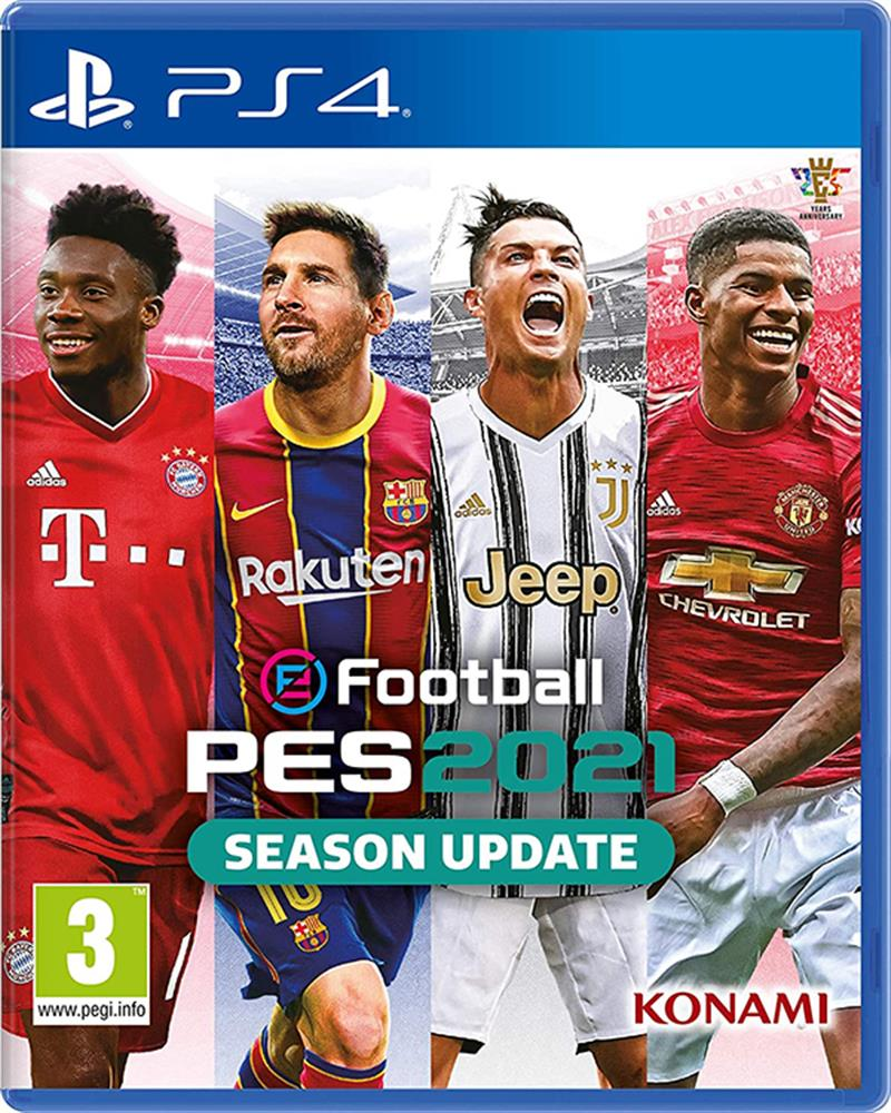 PES 2021 Season Update (standard edition) PS4