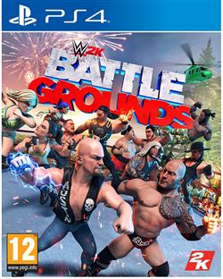wwe 2k games battlegrounds PS4