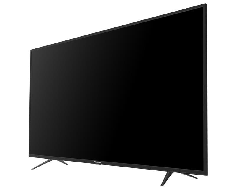 شاشة تليفزيون تورنيدو 4K سمارت 58 بوصة مزود بريسيفر داخلي ، 3 مداخل HDMI و مدخلين فلاشة 58US9500E