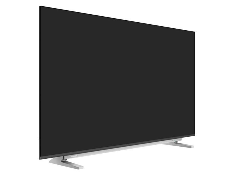 شاشة تليفزيون توشيبا 4K سمارت بدون فريم 55 بوصة مزودة بريسيفر داخلي، 3 مداخل HDMI و مدخلين فلاشة 55U5965EA