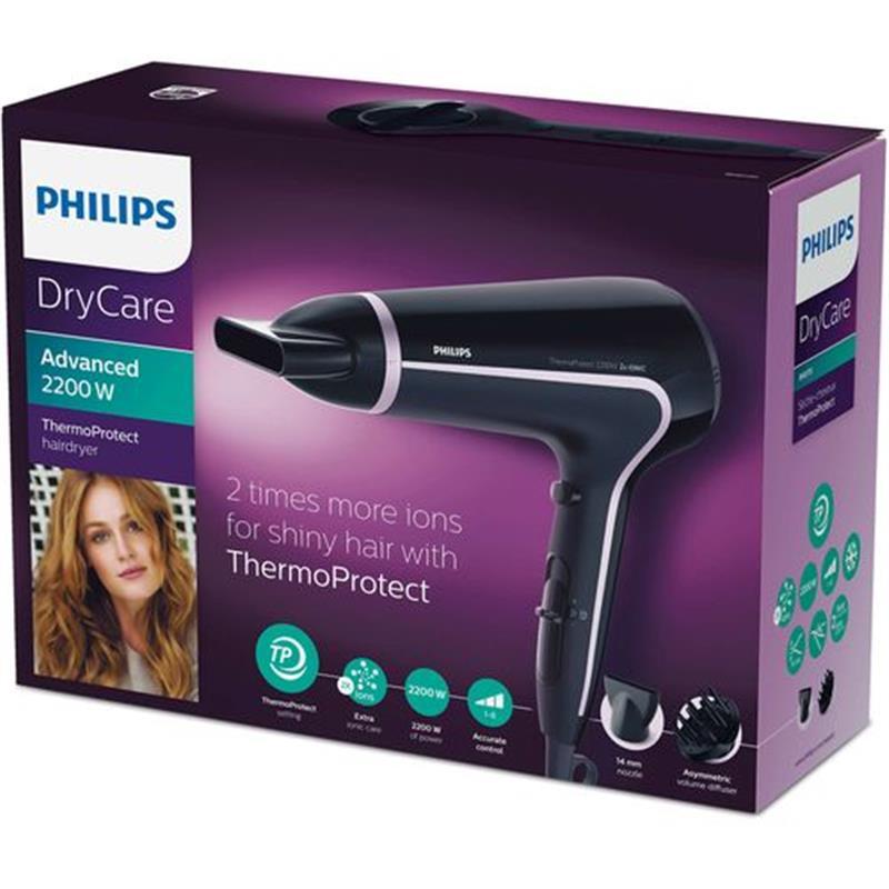 Philips BHD170 Dry Care Advanced Hairdryer - 2200 Watt