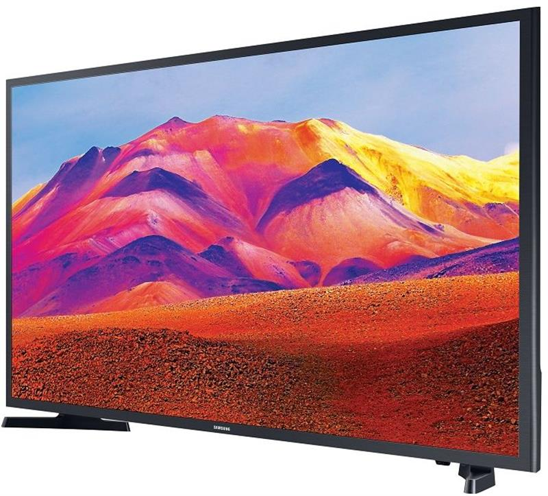 تليفزيون سمارت ال اي دي 43 بوصة فل اتش دي مع ريسيفر مدمج من سامسونج UA43T5300AUXEG - اسود