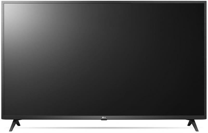 تليفزيون سمارت الترا اتش دي 4 كيه بتقنية الذكاء الصناعي AI ThinQ ورسيفر مدمج من ال جي 50UN7340PVC، 50 بوصة - اسود