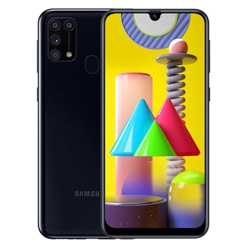 Samsung Galaxy M31 - 6.4-inch 128GB/6GB 4G Mobile Phone - Black