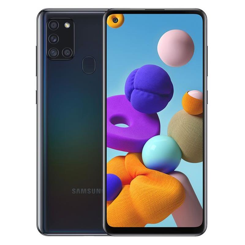 Samsung Galaxy A21s - 6.5-inch 64GB/4GB Dual SIM Mobile Phone - Black