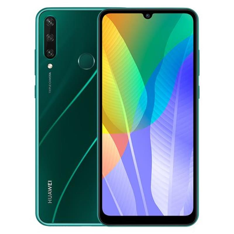 Huawei Y6p - 6.3-inch 64GB/3GB 4G Mobile Phone - Emerald Green