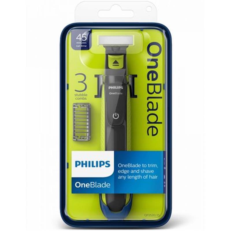 Philips ماكينة حلاقه وان بليد + 3 مشط Qp2520/20