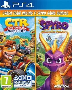 Crash Team Racing: Nitro Fueled & Spyro PS4