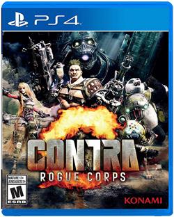 CONTRA Rogue Corps PS4