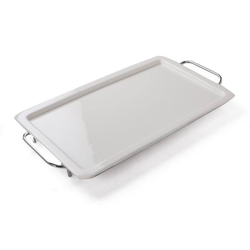 Serving Dish WITH IRON STAND