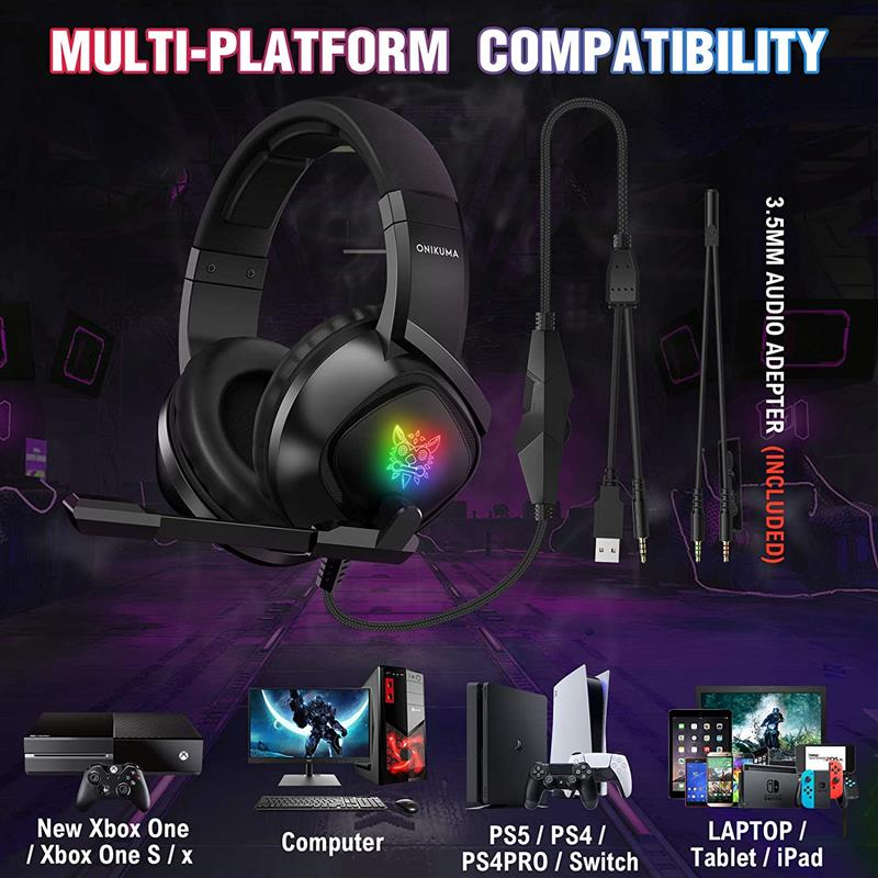 ONIKUMA K19 Gaming Headset