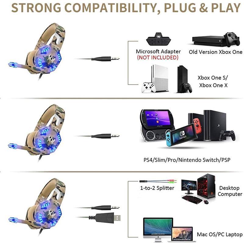 KOTION G2600 Gaming Headset