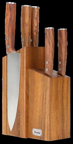 knife set 6 pics stand