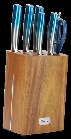 knife set 7 pics stand