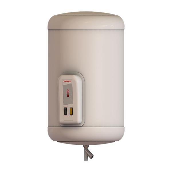 سخان مياه تورنيدو كهرباء 45 لتر لون أوف وايت مزود بلمبة إل إي دي كمؤشر لدرجة الحرارة EHA-45TSM-F