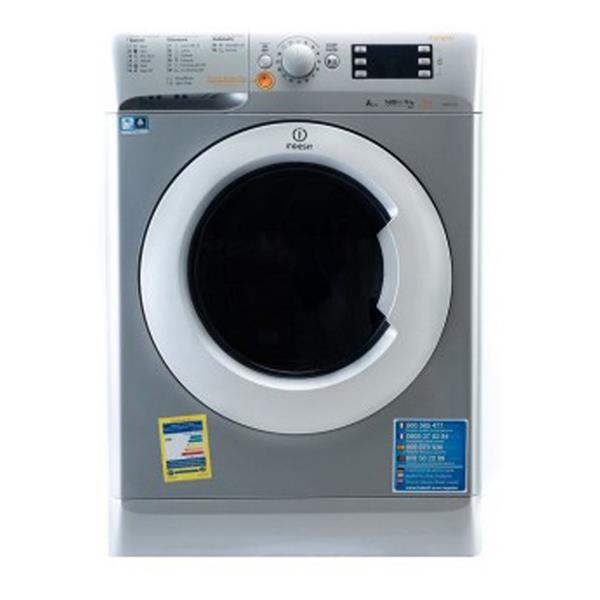 Indesit 9 Kg Wash 6 Kg Dryer front load Fully Automatic Washing Machine White XWDE-961480XSEX
