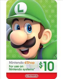 Nintendo eShop Gift Card $10 ( Digital codes )
