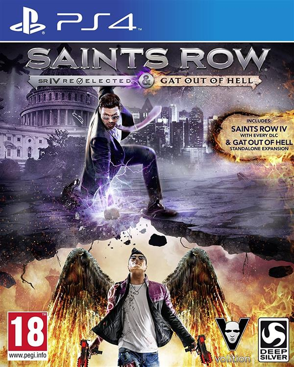 Saints Row Gat Out Of Hell PS4