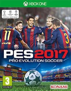 Pro Evolution Soccer 2017 EN  XBOX  ONE