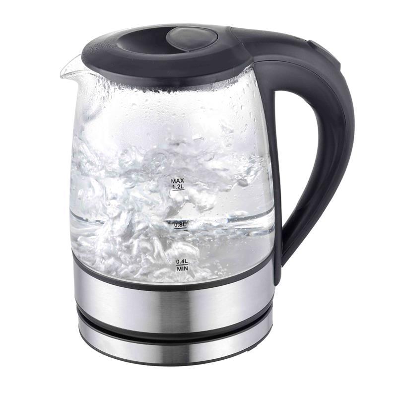 Glass kettle 1.2 L