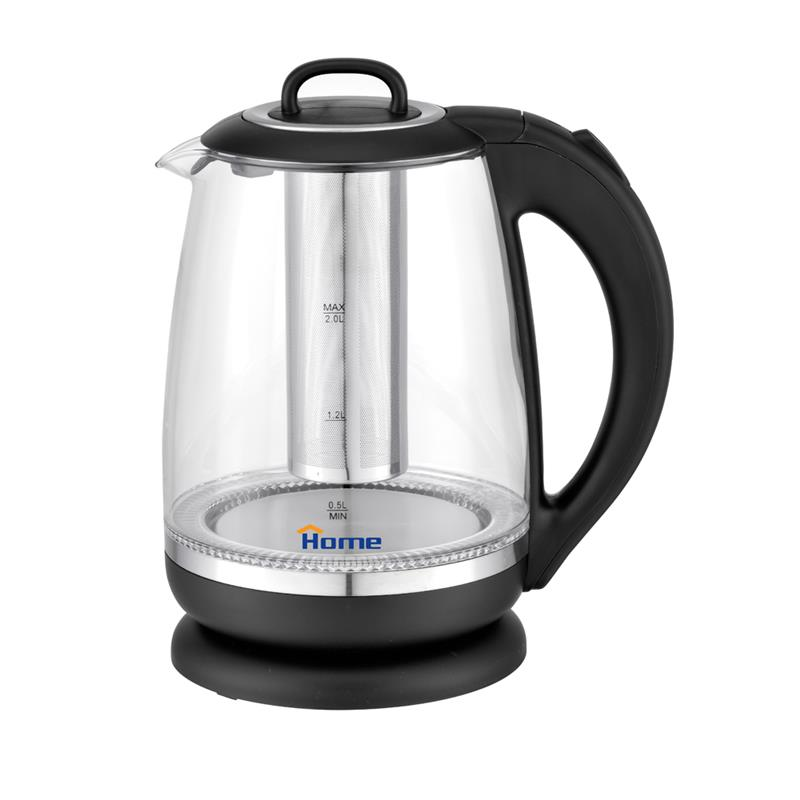 Glass kettle 2L
