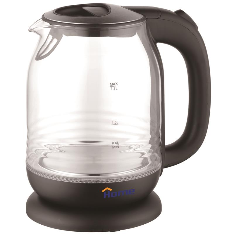 Glass kettle 1.7 L