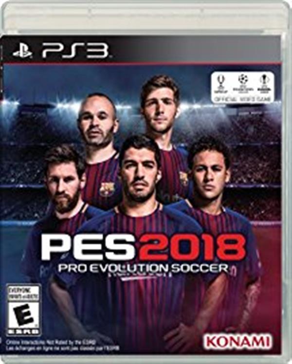 Pro Evolution Soccer 2018 EN PS3