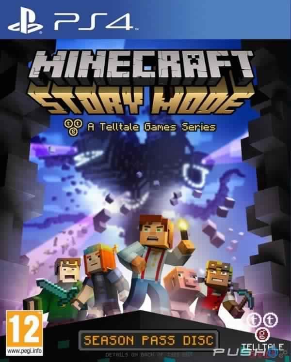Minecraft: Story Mode  PS4