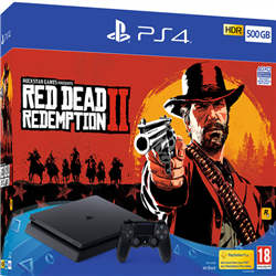 PlayStation4 500 GB + Red Dead 2