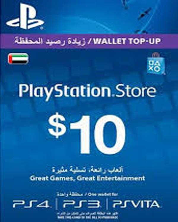 PS-NETWORK CARD 10$