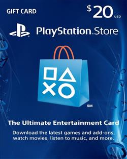 PS-NETWORK CARD 20$ US
