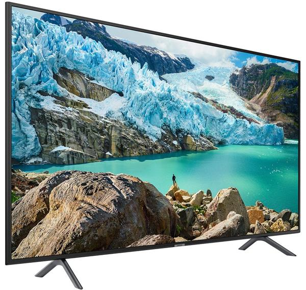 Samsung 55 Inch 4K Ultra HD Smart LED TV with Built-in Receiver - 55RU7100