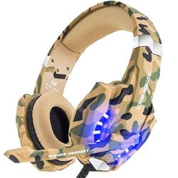 G2600 Camouflage Stereo Gaming Headset Noise Cancelling