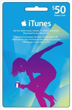 iTunes 50$