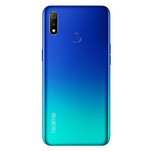 realme 3 - 6.22-inch 32GB Dual SIM 4G Mobile Phone - Radiant Blue