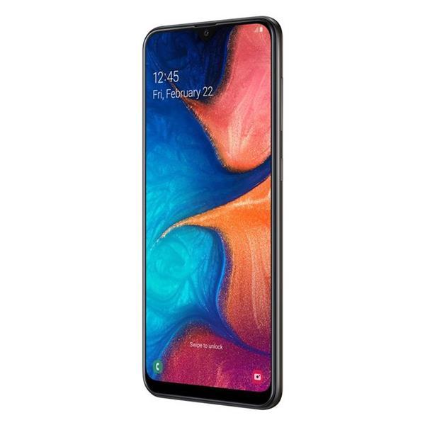 Samsung Galaxy A20 - 6.4 بوصة 32 جيجا بايت ثنائي الشريحة 4G موبايل - أسود