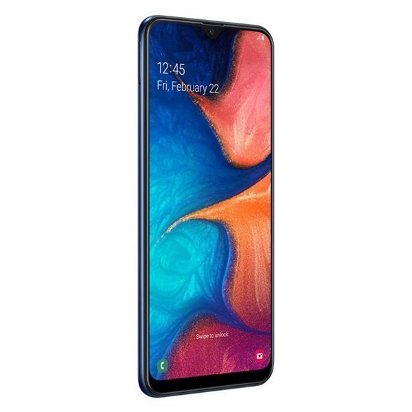Samsung Galaxy A20 - 6.4 بوصة 32 جيجا بايت ثنائي الشريحة 4G موبايل - أزرق
