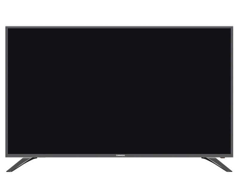 شاشة تورنيدو 43 بوصة إل إي دي Full HD مزودة بمدخلين HDMI و مدخلين فلاشة 43EL8250E-B